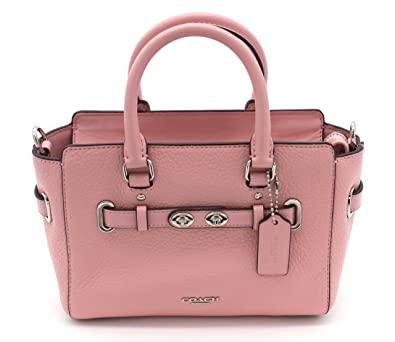 ecf4ea0122 COACH Women s leather Hand shoulder bag F37635 (Light pink ...