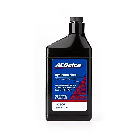 liftgate hydraulic fluid