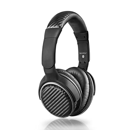 MEE Audio Air-Fi Matrix2 Bluetooth Wireless + Wired High Fidelity Headphones with Headset and aptX, AAC and NFC Support Audio Headphones at amazon