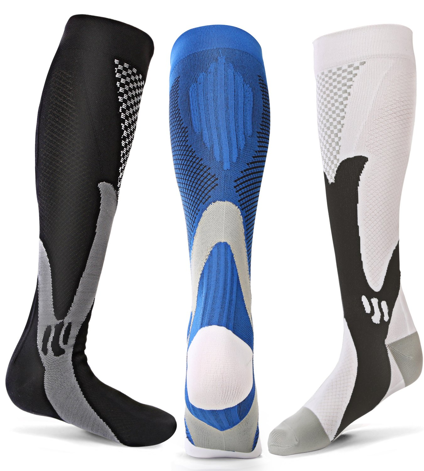 Men's Socks Hospitable Compression Socks Unisex Anti-fatigue Compression Socks Foot Pain Relief Soft Magic Socks Men Women Leg Support Dropshipping Hot
