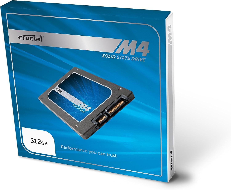 Crucial M4 - Disco Duro sólido Interno de 256 GB (2.5