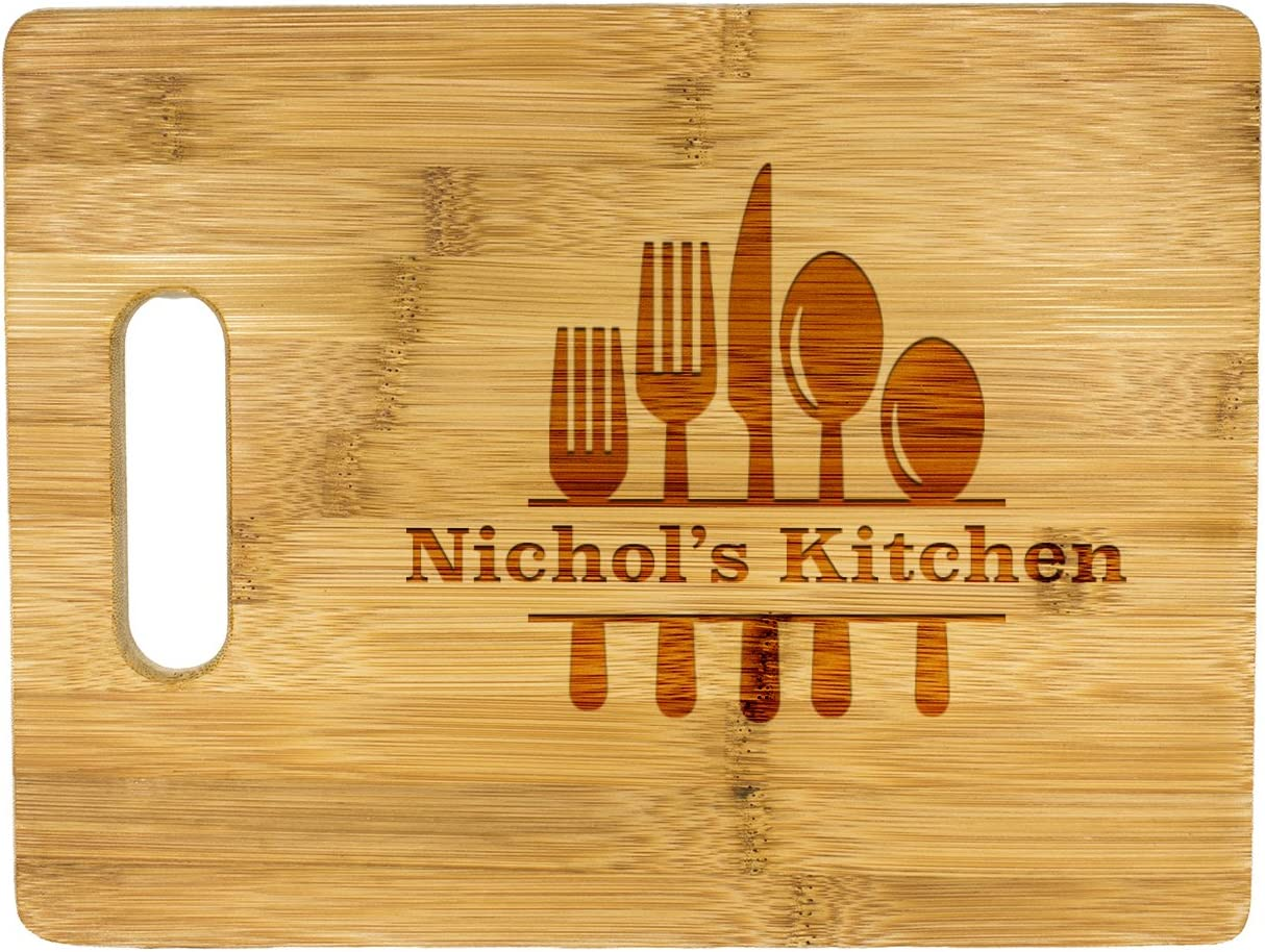 Personalized Cutting Board, Wedding Chopping Board, kitchen décor,Laser engraved Wooden cutting board