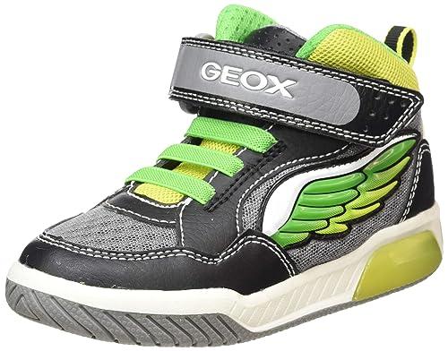 Geox Jungen J Inek Boy D Hohe Sneaker