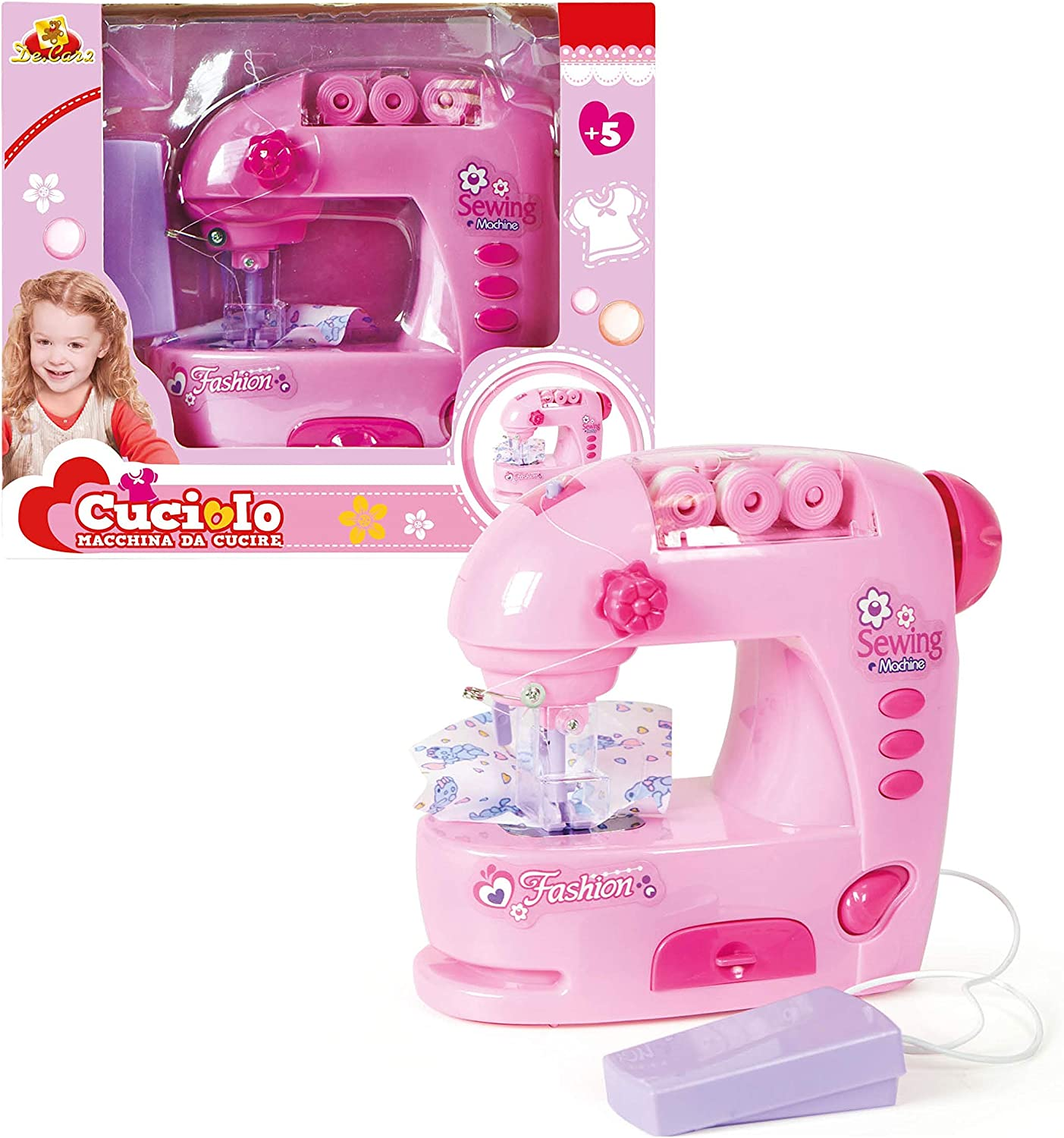 Máquina de Coser Juguete Toy Sewing Machine Set for Children ...
