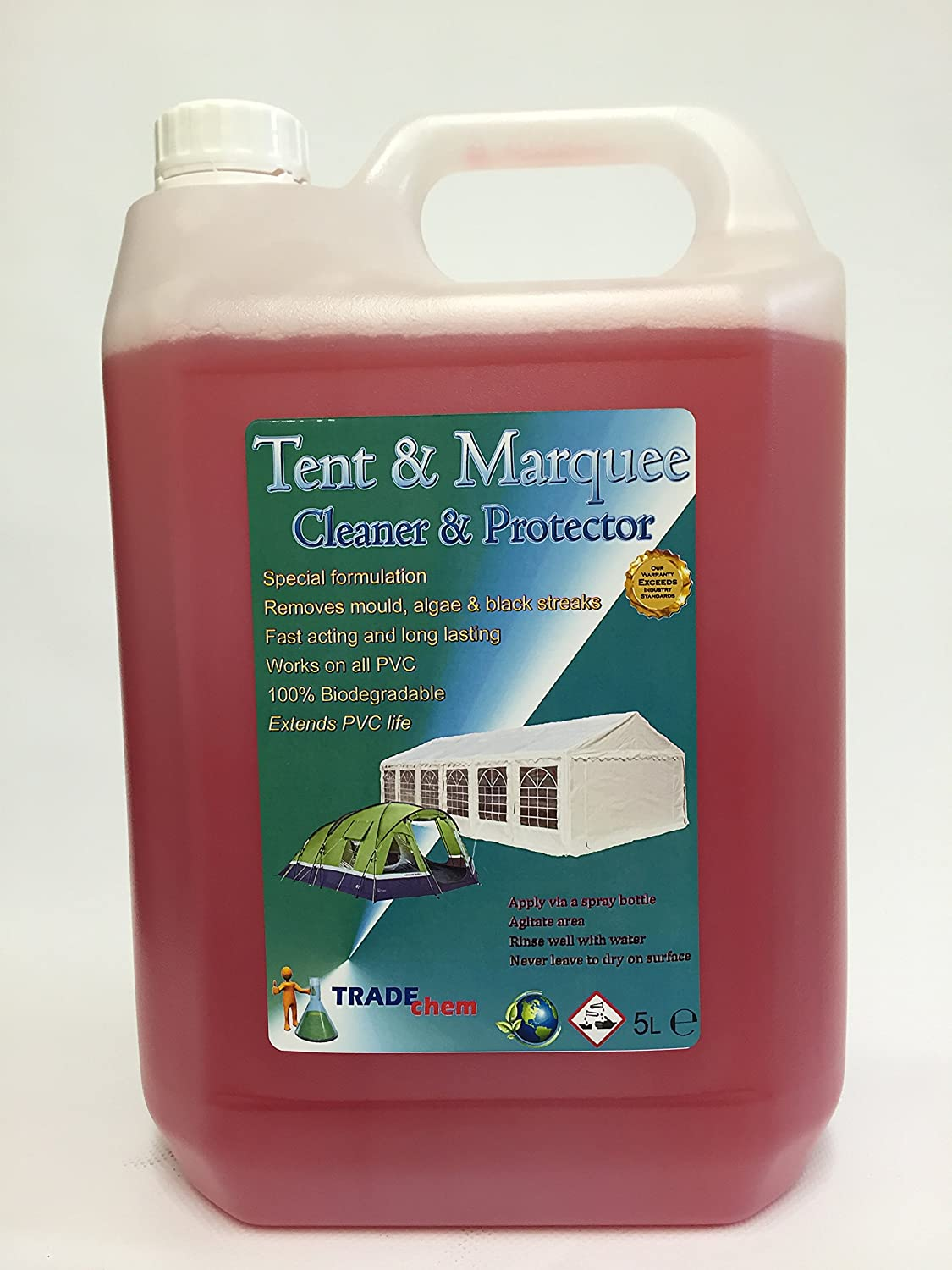 TENT / MARQUEE CLEANER u0026 PROTECTOR 5L (1) Amazon.co.uk Kitchen u0026 Home & TENT / MARQUEE CLEANER u0026 PROTECTOR 5L (1): Amazon.co.uk: Kitchen ...