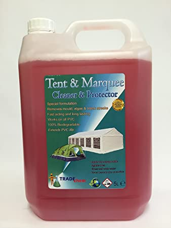 TENT / MARQUEE CLEANER u0026 PROTECTOR 5L ... & TENT / MARQUEE CLEANER u0026 PROTECTOR 5L (1): Amazon.co.uk: Kitchen ...