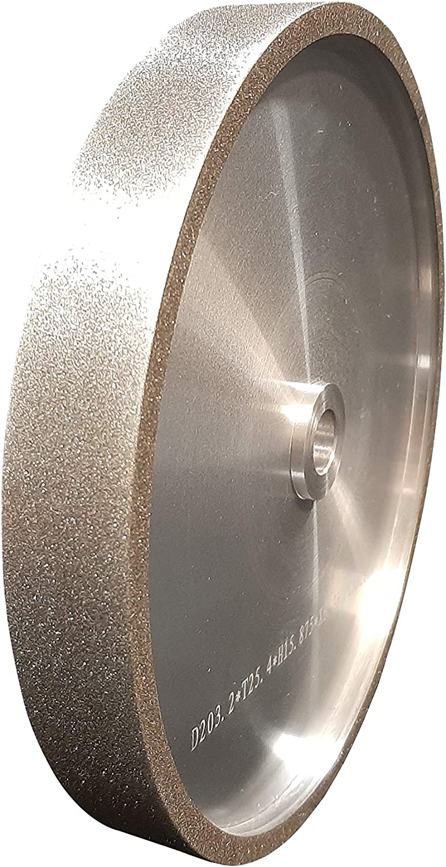 VMTW 8X1 inch CBN Grinding Wheel 180 Grit Sharpen High Speed Steel Cutting Tools