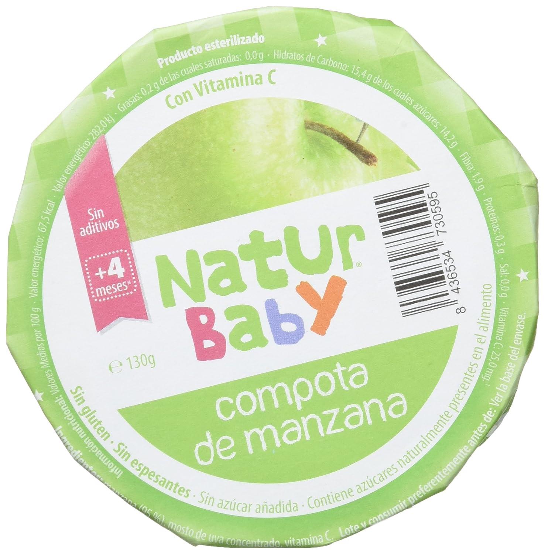 Natur Baby Puré Natural de Fruta para Bebé - Paquete de 18 x 130 gr - Total: 2340 gr: Amazon.es: Alimentación y bebidas