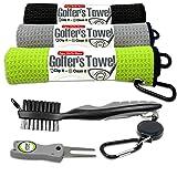 Fireball Golf 5-Piece Deluxe Golf Towel Gift