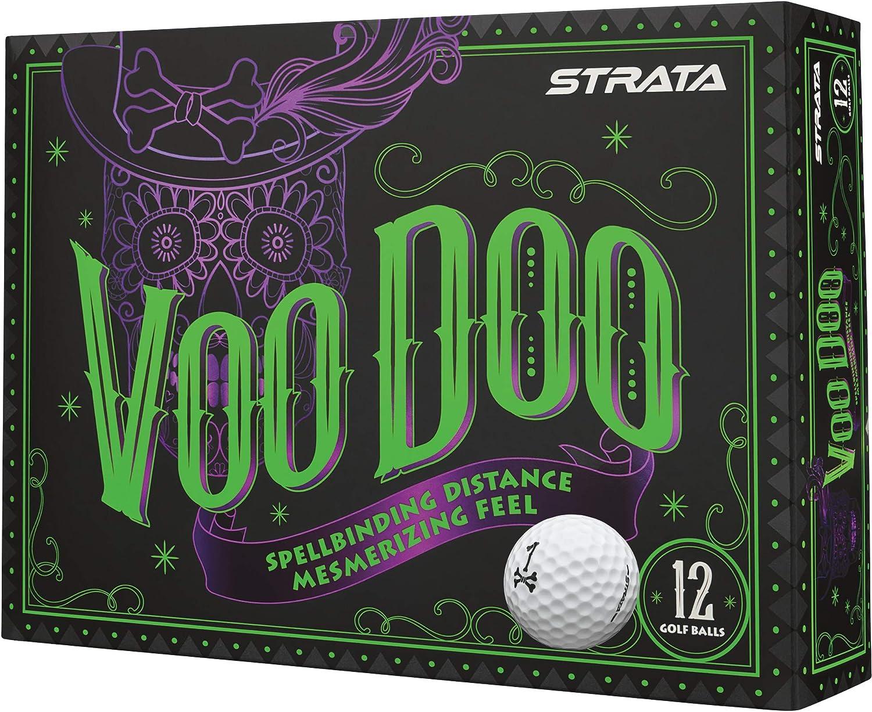 Strata 2018 Voodoo Golf Balls (One Dozen)