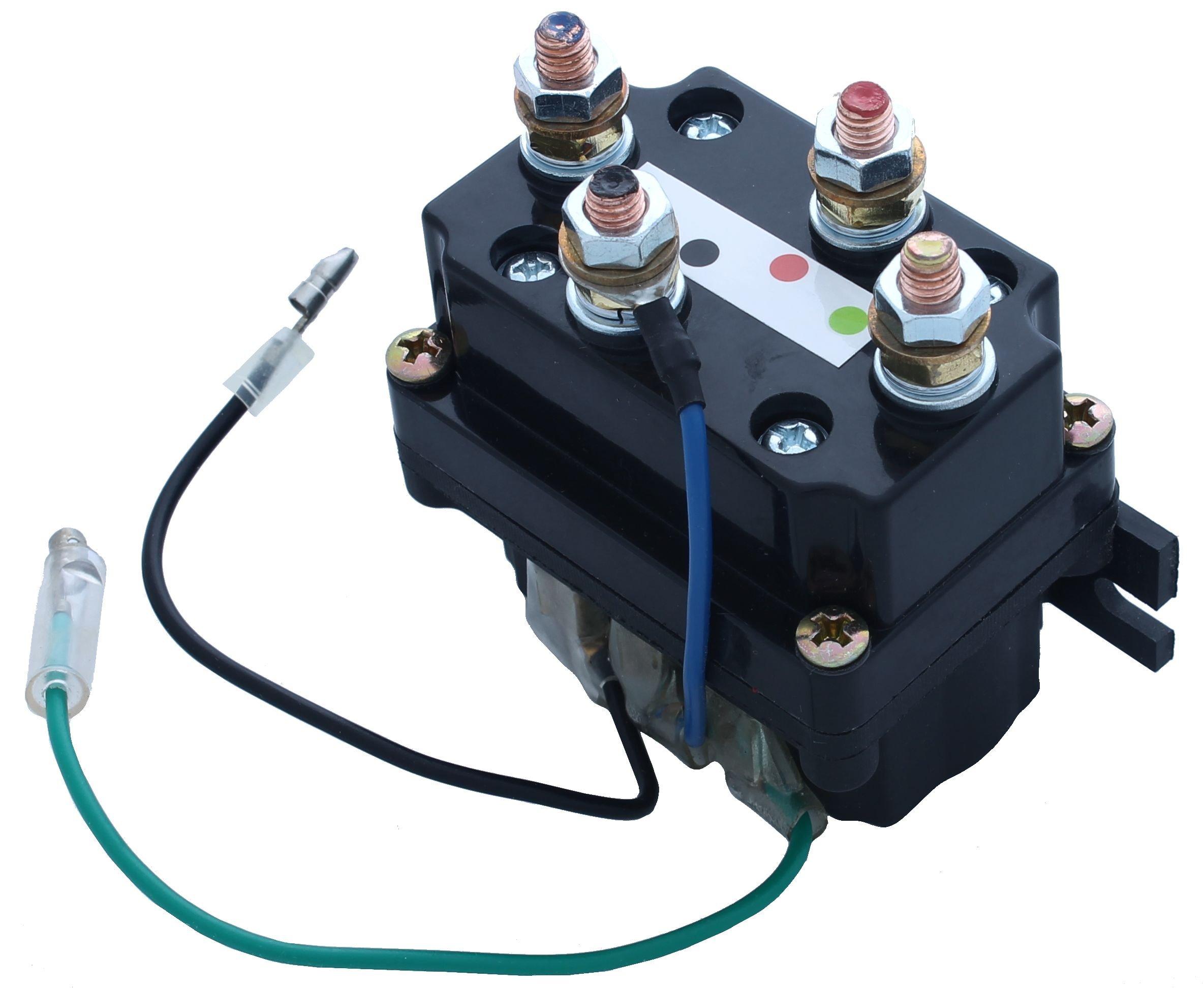 VIPER ATV/UTV Replacement Contactor/Solenoid 1500lb-5000lb Winches by MotoAlliance