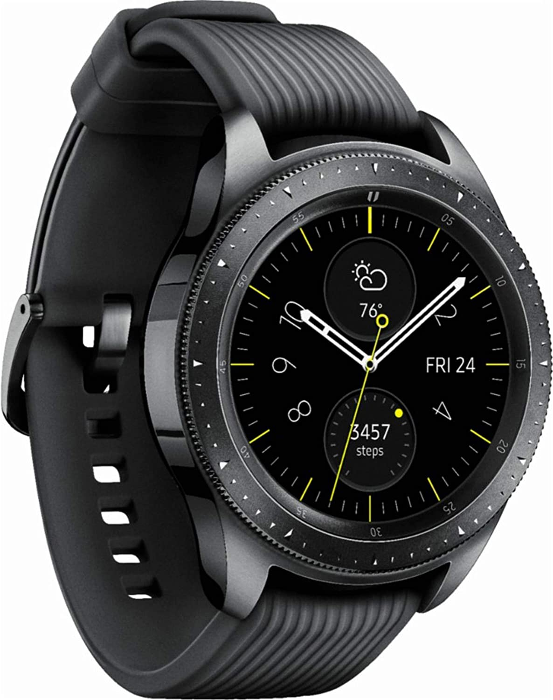 Samsung Galaxy Watch (42mm) 4G LTE SM-R815UZKAXAR - Midnight Black (Renewed)