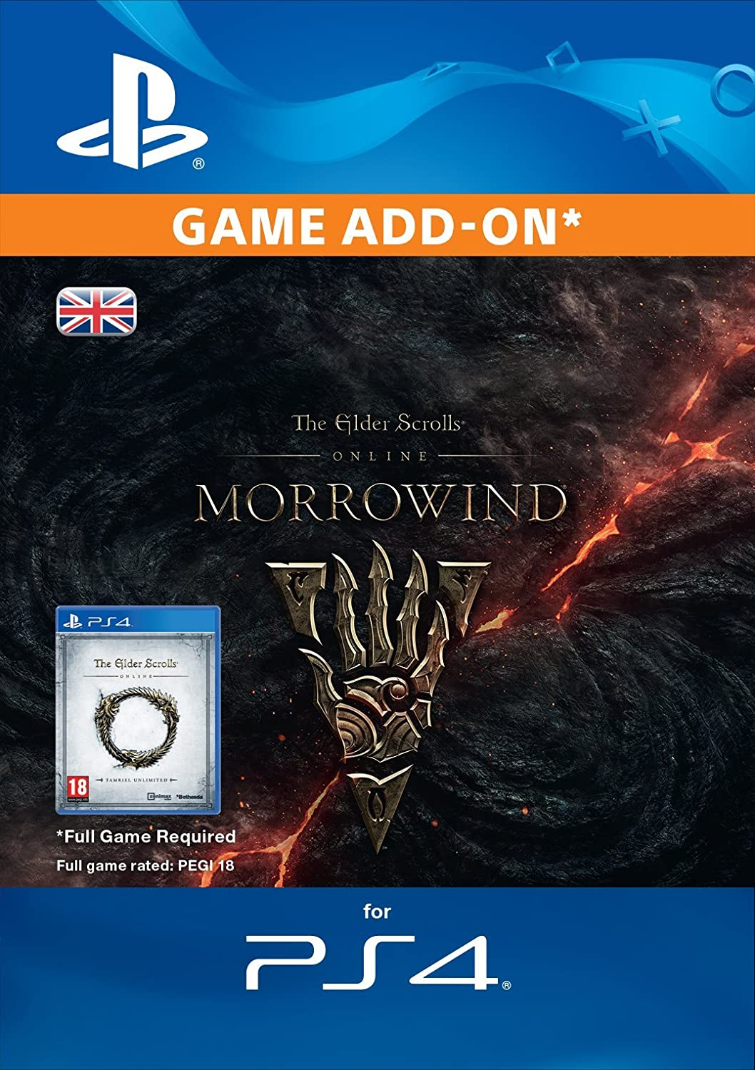The Elder Scrolls Online Morrowind Upgrade Edition DLC [PS4