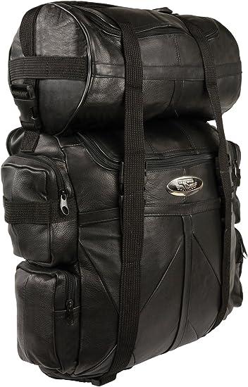 20X16X6 Milwaukee SH537-BLK-PCS Black Large Deluxe Sissy Bar Pack
