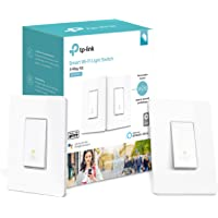 2-Pack TP-Link Kasa HS210 Smart Wi-Fi Light Switch (3-Way Kit) + TP-LINK HS200 Smart Wi-Fi Light Switch