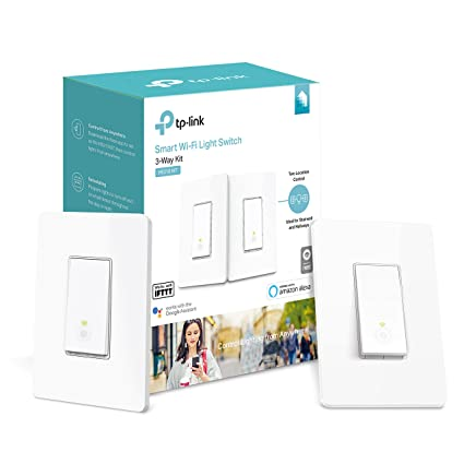 kasa smart wi fi light switch, 3 way kit by tp link controlkasa smart wi fi light switch, 3 way kit by tp link