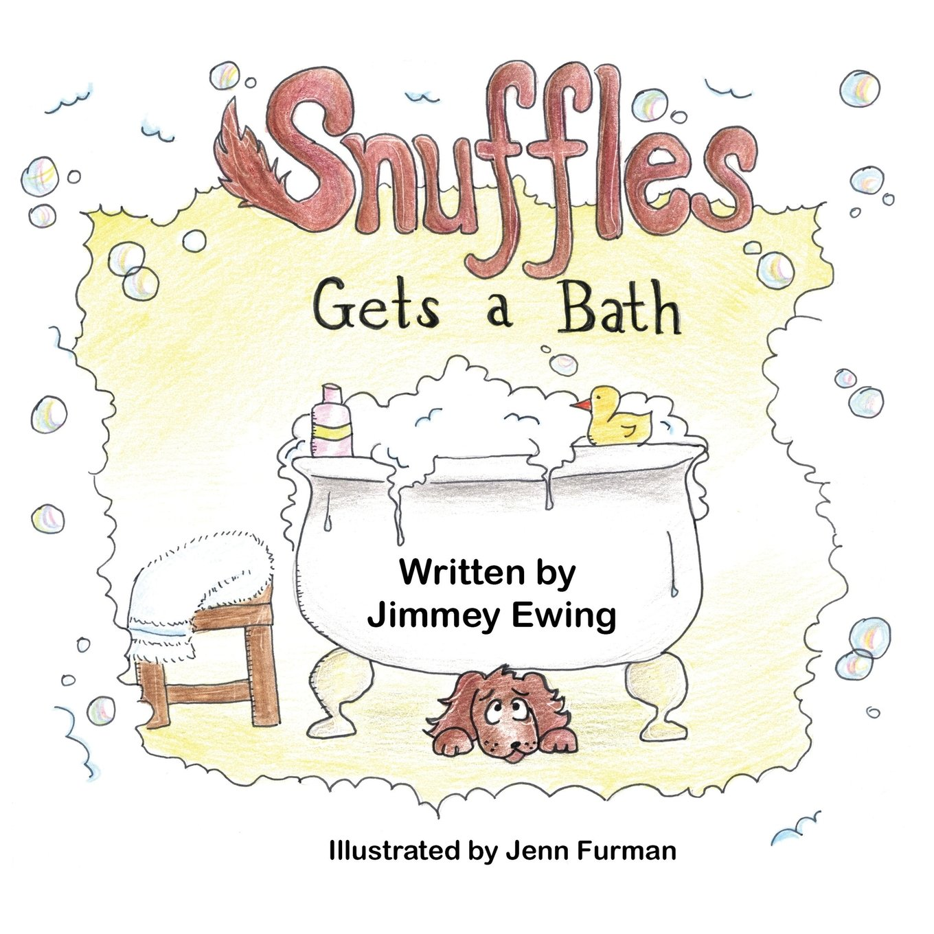 Snuffles Gets Bath Jimmey Ewing product image