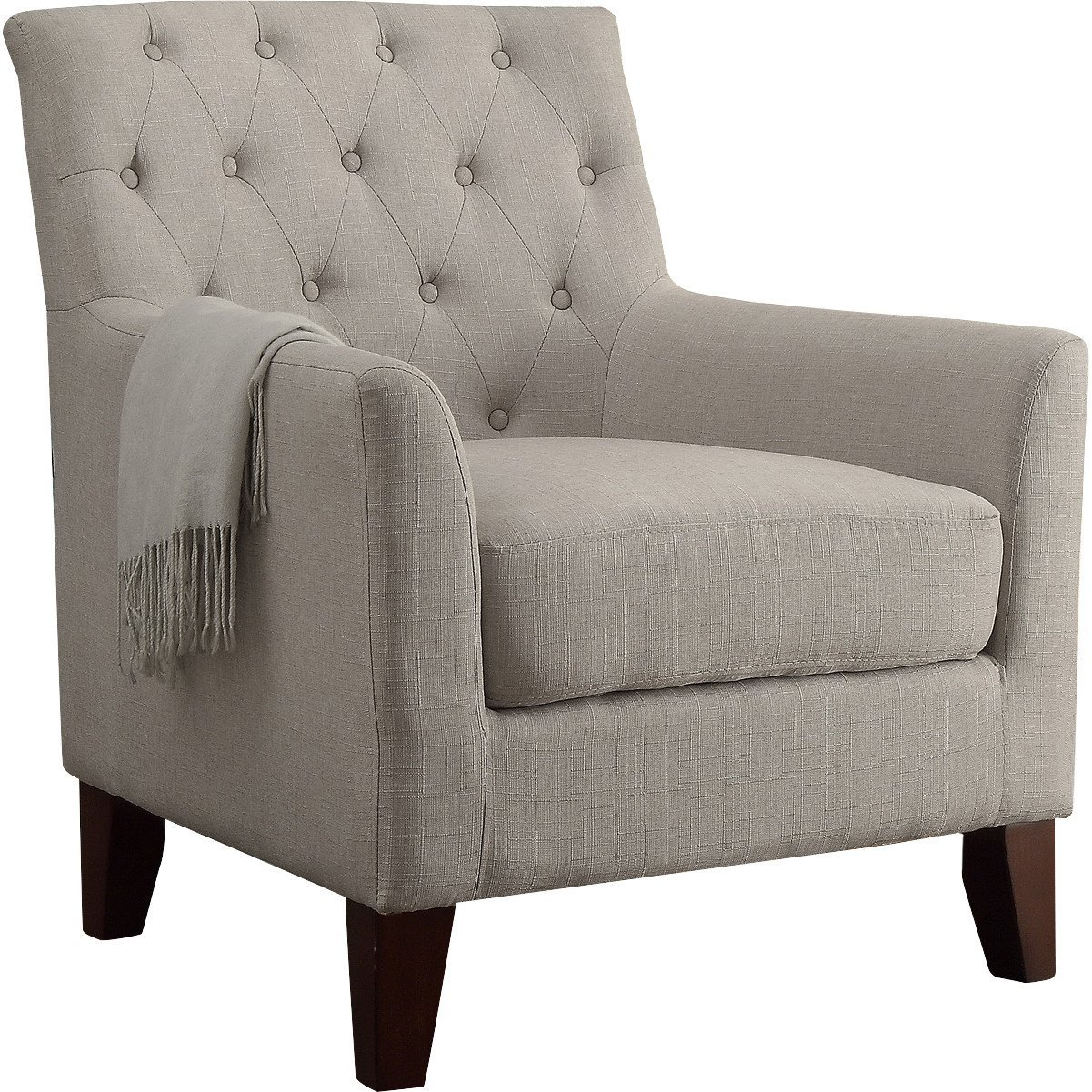 Amazon.com: Clara Tufted Sillón: Kitchen & Dining