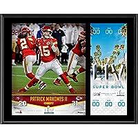 $39 » Patrick Mahomes Kansas City Chiefs 12'' x 15'' Super Bowl LIV Champions Sublimated Plaque…