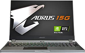 [2020] AORUS 15G (XB) Performance Gaming Laptop, 15.6-inch FHD 300Hz IPS, GeForce RTX 2070 Super Max-Q, 10th Gen Intel i7-10875H, 16GB DDR4, 1TB NVMe SSD