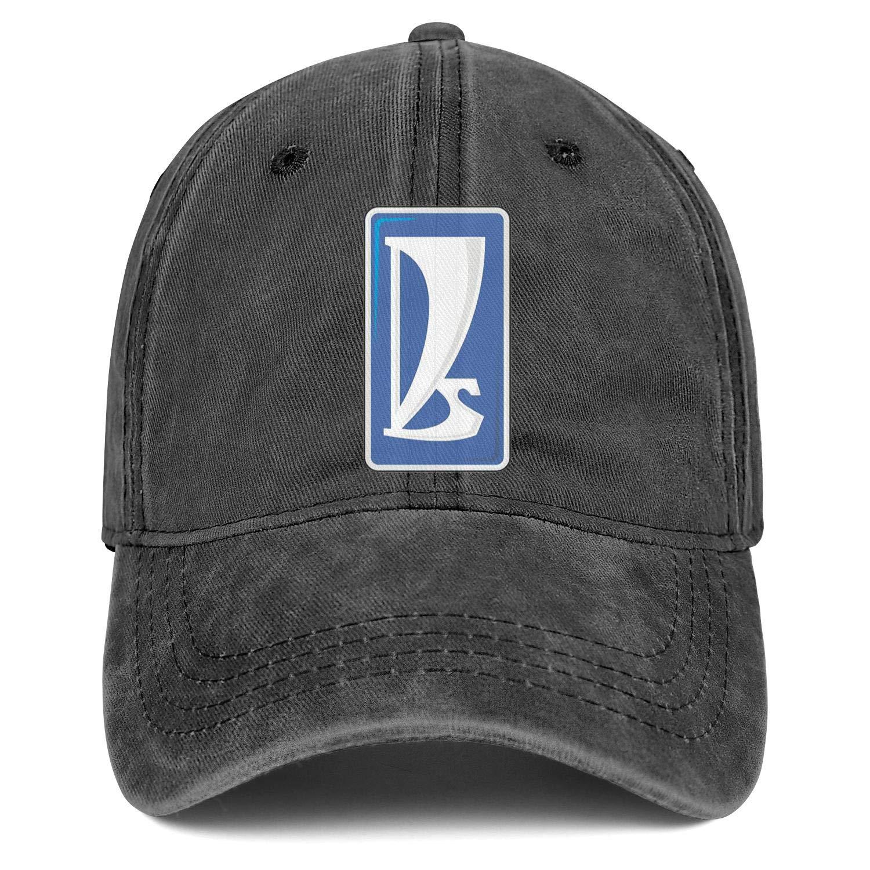 Men Women Hat VAZ Logo Snapback Hats Custom Denim Cap Fit Caps