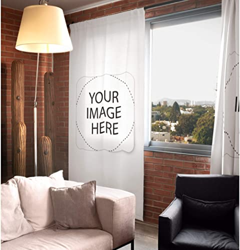 Personalised Custom Window Curtain 1 Panel Your Image Photo Printed Livingroom Bedroom Decor Room Darkening