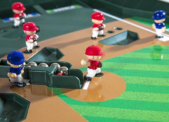 Amazon.com: Game Zone Super Stadium Baseball Game with Realistic ...