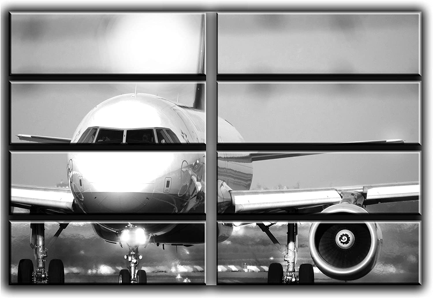 Huge 8 Piece Airplane Sale 2021new shipping free shipping Special Price Airbus A-320 P Picture Wall Art Decor