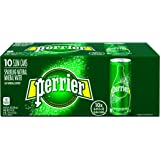 PERRIER Sparkling Mineral Water, 8.45-Ounce Slim Cans (Pack of 10)
