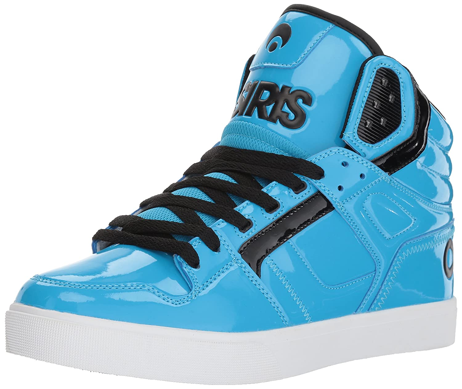 Osiris Men's Clone Skate Shoe 7.5 D(M) US|Neon/Brights/Cyan