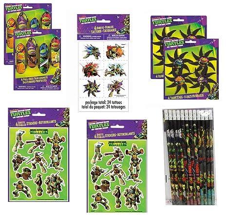 Amazon.com: Teenage Mutant Ninja Turtles Birthday Party ...