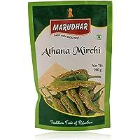 Marudhar Athana Mirchi-Green - 400gm (Set of 200gm *2)