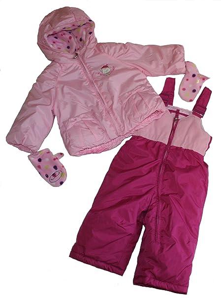 Amazon.com: ZeroXposur bebé traje de 2-PC Nieve Niña, 12 ...