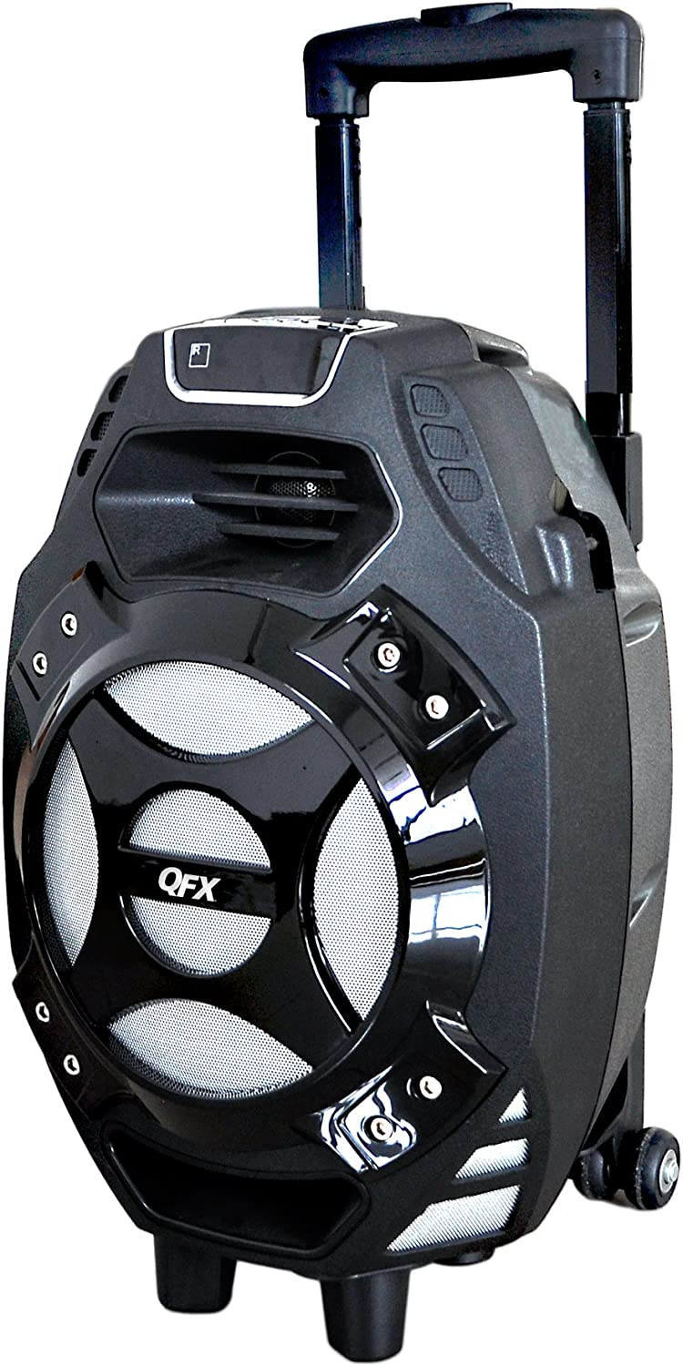 QFX PBX-61081BT/SI Portable Bluetooth Party Speaker