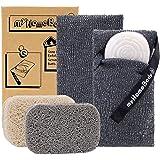 Soap Saver Pouch | Exfoliating Sponge Soap Pocket Body Exfoliator Sponges for Bath or Shower | Body Scrubber for Large…