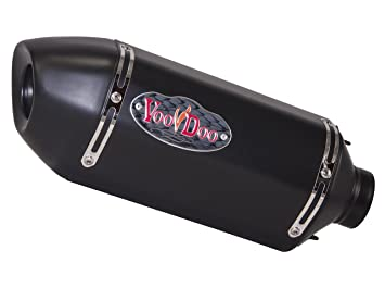 VooDoo Industries VPE650RL2B Black Finish Performance Exhaust
