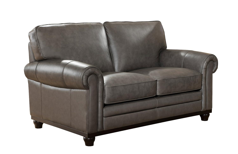 Astonishing Amazon Com Coja By Sofa4Life Lakehurst Leather Loveseat Creativecarmelina Interior Chair Design Creativecarmelinacom