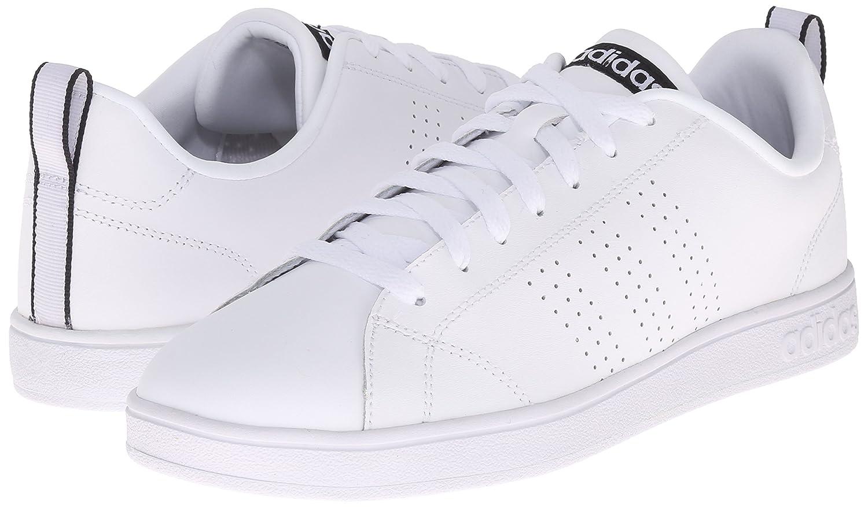 adidas Neo Women's Advantage Clean VS W Casual Sneaker B010NLEYX4 8 B(M) US|White/White/Black