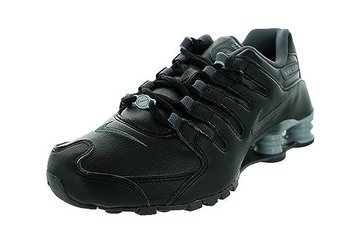 Nike Women s Shox NZ EU Black Dark Grey Wolf Grey Running Shoe 10 Women 47ba520dc