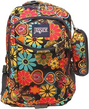 Mochila Estampada de Flores con Estuche Regalo a Juego. Estilo Hippie, diseño Original para Mochila Escolar, Infantil, Acampada, excursiones: Amazon.es: Equipaje