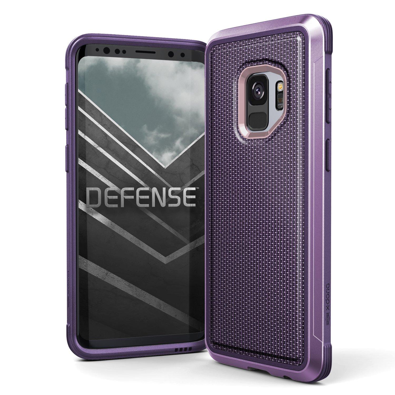 release date: f342f c7127 Galaxy S9 Case, X-Doria Defense Lux Premium Protective Aluminum Frame Thin  Design Shockproof Case for Samsung Galaxy S9, Ballistic Nylon