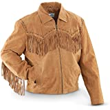Scully Men's Fringed Suede Leather Short Jacket - 221-409