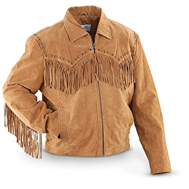 f1f846d029a6 Scully Men s Fringed Suede Leather Short Jacket at Amazon Men s ...