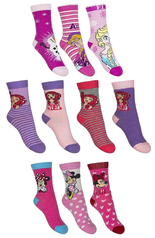 10er Pack calzini per bambini ragazzi ragazze calze mix Dealzone