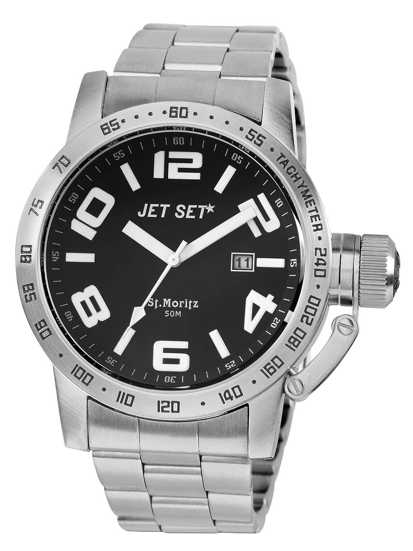 Jet Set Herren-Armbanduhr San Remo Analog Quarz Edelstahl J27573-212