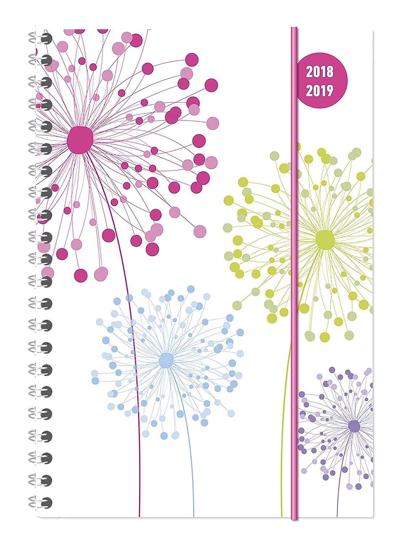 """Diario agenda scuola collegetimer """"Dente di leone"""" 2018/2019 - Spiralata - Settimanale - 224 pagine - 15x21 cm Alpha Edition 19.0696 Buchkalender Kalender / Buchkalender"""
