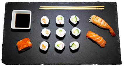 Piatti Cucina In Ardesia : Set di piatti in vera ardesia cm colore antracite