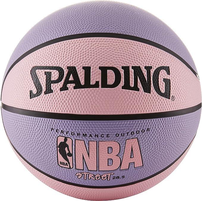 Spalding NBA Street – Balón de Baloncesto, Color Rosa y Morado ...