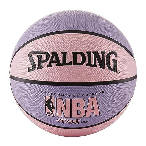 Spalding NBA Street - Balón de Baloncesto, Color Rosa y Morado ...