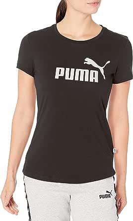 PUMA Women's Essentials+ Metallic TEE
